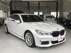 BMW740i Mスポーツ ナビ 全方位カメラ LEDヘッド 本革