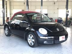 VW ニュービートルカブリオレヴィンテージ 赤革 ナビ ワンセグTV キーレス アルミ