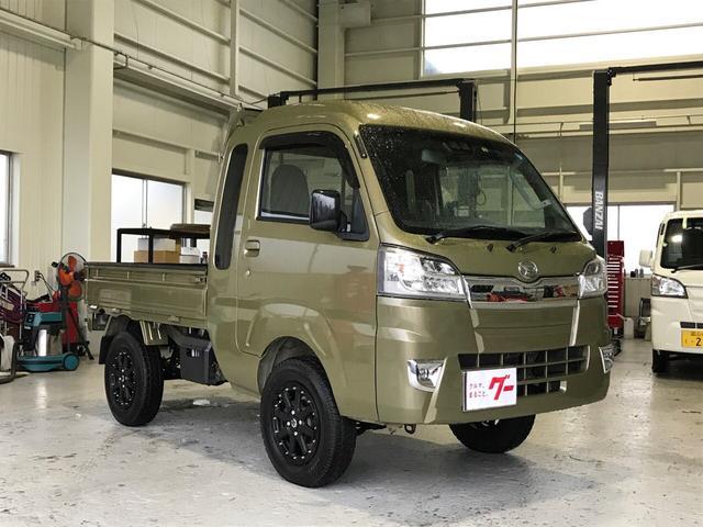 ダイハツ ジャンボSAIIIt 4WD ワンオーナー LEDフォグ