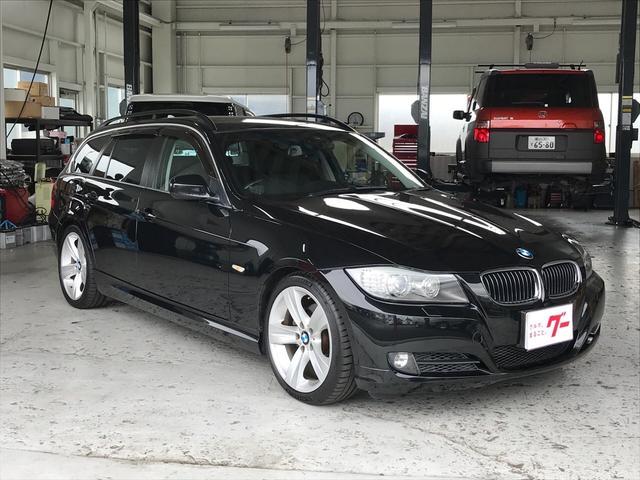 BMW 325iツーリング 本革 ナビTV ドラレコ