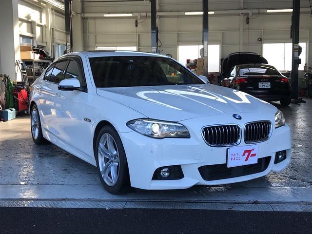 BMW 5シリーズ 523d Mスポーツ ディーゼル サンルーフ ナビTV バックカメラ ETC スマートキー ドラレコ