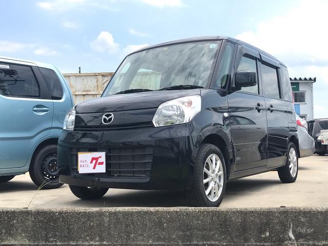 マツダ XS ナビ 軽自動車 ブラック CVT AC AW