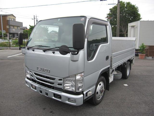 いすゞ エルフトラック 標準 10尺 4WD FFL 平ボディPG 積載2t