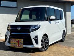 タントカスタムX 登録届け出済み車 全国ダイハツディーラー保証 左パワースライドドア LEDライト 走行距離5キロ