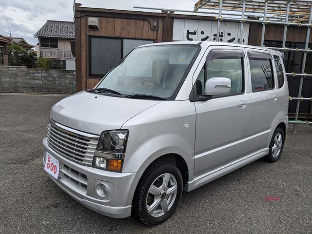 スズキ FX-Sリミテッド スマートキー 4WD ターボ 純正CD.MD