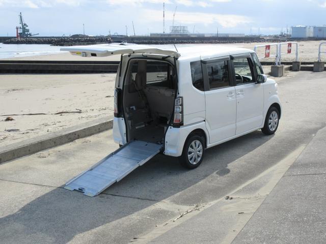 ホンダ G 福祉車両 スローパー 電動ウインチ 4WD CVT ナビ