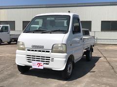 キャリイトラック4WD エアコン フロア5MT 軽トラック 保証付