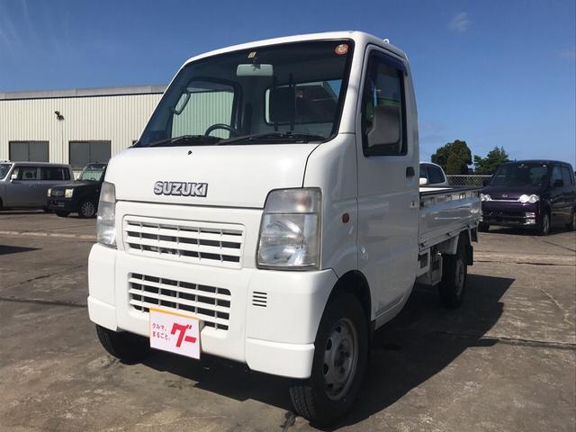 スズキ KA 4WD MT 軽トラック ホワイト ABS