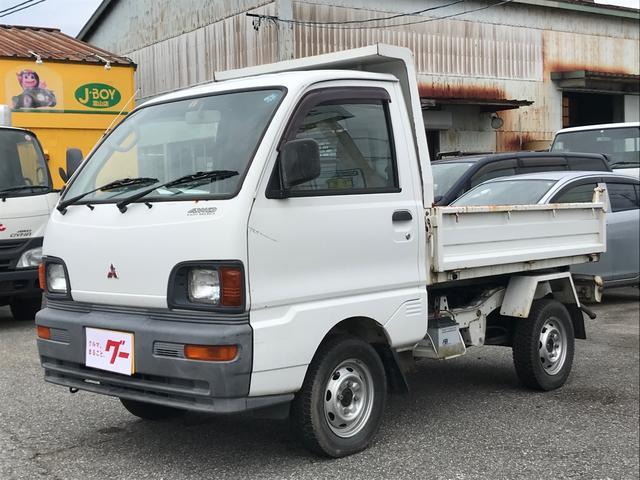三菱 PTOダンプ 4WD MT車 走行37,010km
