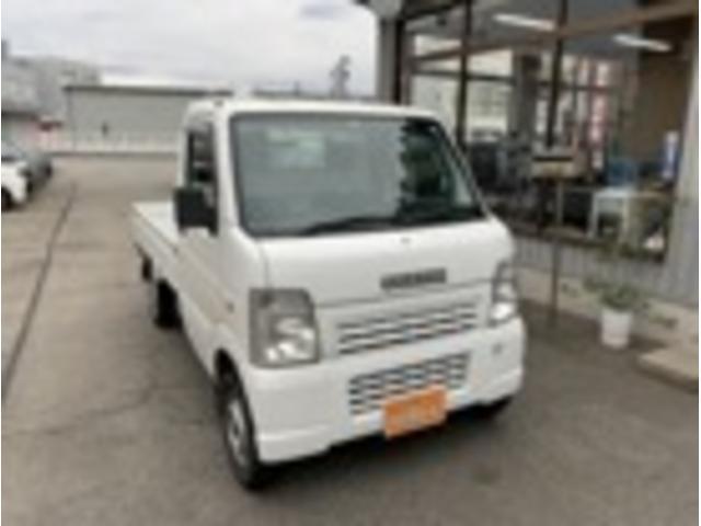 スズキ KCエアコン・パワステ トラック660KCエアコン・パワステ3方開 4WD