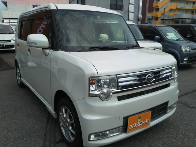 トヨタ ピクシススペース カスタム G 車検整備 SDナビTV HIDライト