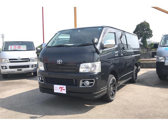 トヨタ スーパーGL AW ナビ 4WD ETC ターボ ブラック