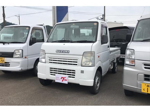 スズキ 4WD AC MT 軽トラック ホワイト 記録簿
