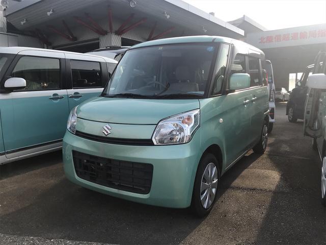 スズキ X ナビ 軽自動車 フォレストアクアメタリック CVT