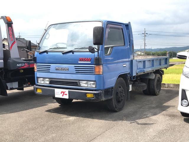 マツダ タイタントラック ベースグレード 2tダンプ