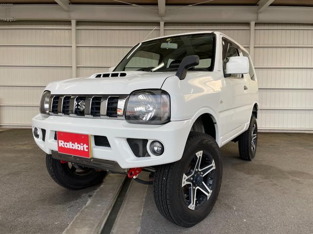 スズキ XG 5MT リフトアップ 社外新品マフラー 社外アルミホイール キーレス 4WD ターボ 社外シート