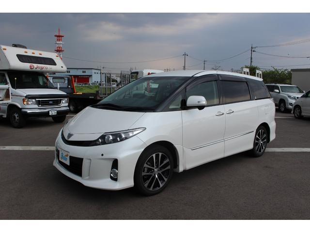 トヨタ アエラス プレミアムエディション7人乗り SDナビTV