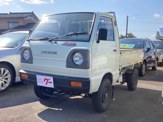 スズキ キャリイトラック  4WD 4速MT 修復歴無 軽トラック