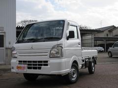 ミニキャブトラックM 4WD オートマ 届出済未使用車 誤発進抑制機能搭載