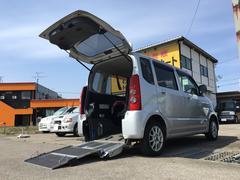 AZワゴンFX 福祉車両 車イス運搬車スローパー ABS付き 禁煙車