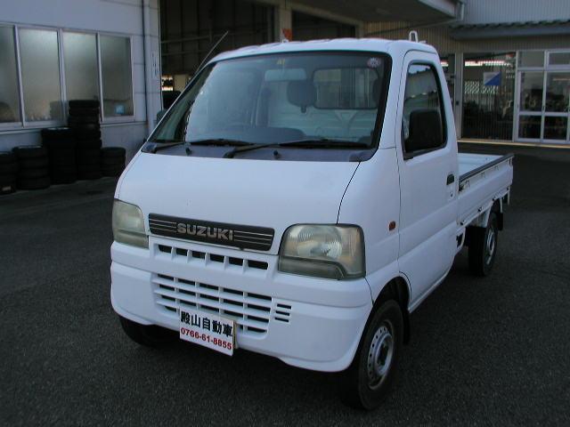 スズキ KUスペシャル 4WD 5MT エアコン パワステ 3方開