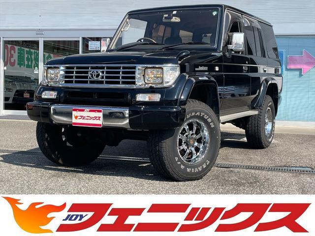 トヨタ SXワイド タイベル交換済み ディーゼルターボ リフトアップ プロコンプショック MKW MK-46アルミ 285/75R16タイヤ 黒革調シートカバー メモリーナビ フルセグ ブルートゥース ETC ドラレコ