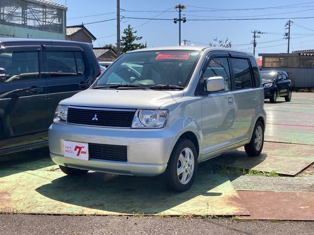 三菱 M 4WD CDデッキ マニュアルエアコン アルミホイール PS スノータイヤ付 バッテリー新品交換済
