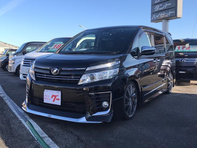 「トヨタ」「ヴォクシー」「ミニバン・ワンボックス」「富山県」の中古車
