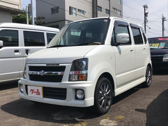 スズキ RR-Sリミテッド ターボ 4WD 14アルミタイヤ新品