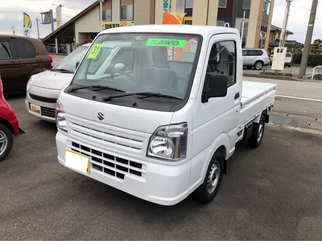 スズキ KC 4WD AC MT 軽トラック 保証付