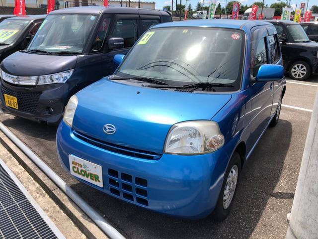 ダイハツ L 軽自動車 ブルー AT AC AW 4名乗り キーレス