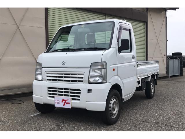 スズキ KC 4WD AC PS MT 軽トラック 2名乗り 白