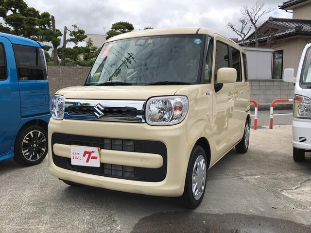 スズキ ハイブリッドX ナビ TV 軽自動車 ETC 4WD