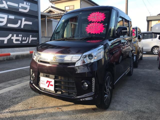 スズキ TS SDナビTV ETC Wパワースライド新品タイヤHID