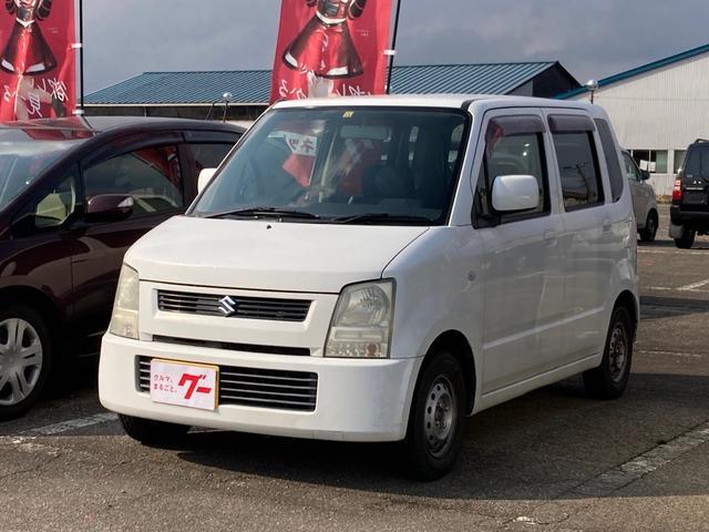スズキ ワゴンR FX スペリアホワイト AT AC 4名乗り オーディオ付
