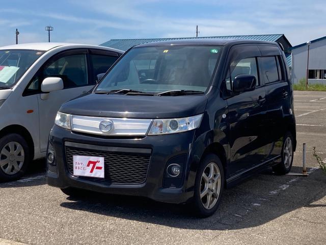 マツダ AZワゴンカスタムスタイル XS オートエアコン ベンチシート ABS CD 盗難防止システム