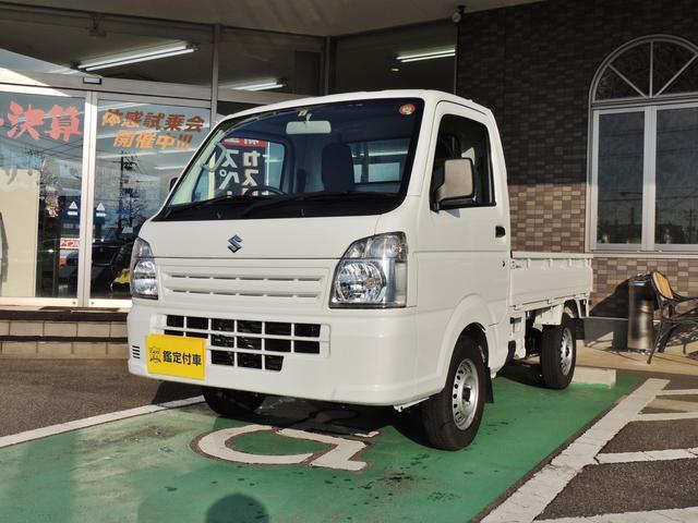 スズキ KCエアコン・パワステ 5MT 4WD