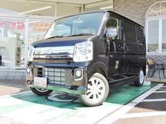 エブリイワゴンPZターボ パワスラ HID 4WD 届出済未使用車