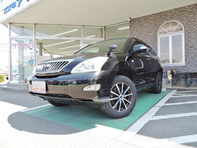 トヨタ 350G Lパケ 社外フルセグナビ Bカメラ 黒革 4WD