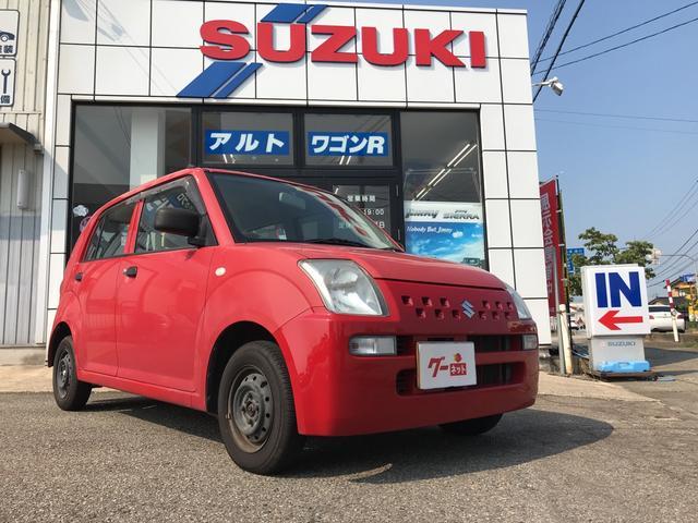 スズキ E 軽自動車 フロアAT エアコン 4人乗り CD パワステ