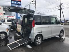 スペーシア福祉車両 CVT ナビ スマートキー AW ドラレコ付き