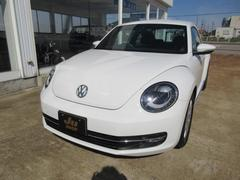 VW ザ・ビートルデザイン 純正SDナビ バックモニター プッシュスタート