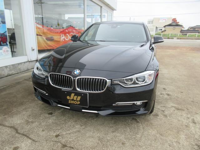 BMW 320iラグジュアリー 純正HDDナビ バックモニター 黒革