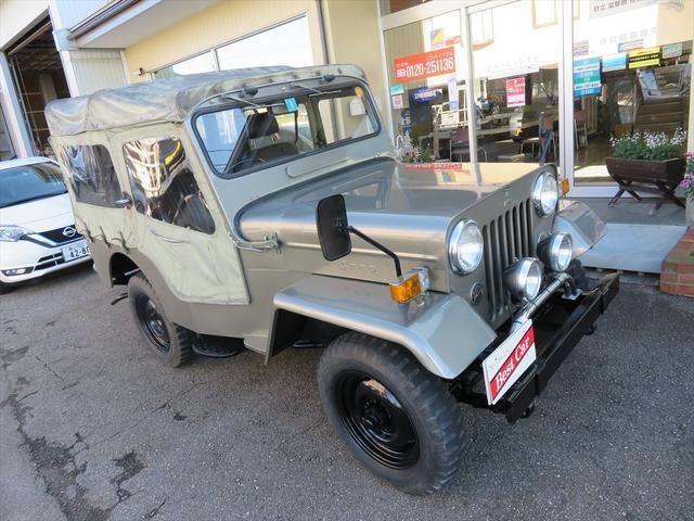 三菱 キャンバストップ 4WD ディーゼル 4MT