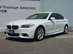 BMW523i Mスポーツ 認定中古車 ウッドトリム