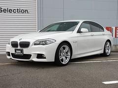 BMW535i Mスポーツパッケージ 認定中古車 黒レザーシート