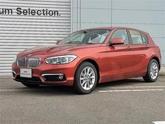BMW118d スタイル 登録済未使用車 パーキングサポートPKG