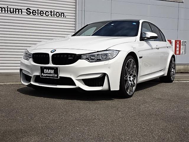 BMW M3セダン コンペティション 認定中古車 黒レザー LED