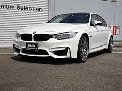 BMWM3セダン コンペティション 認定中古車 黒レザー LED