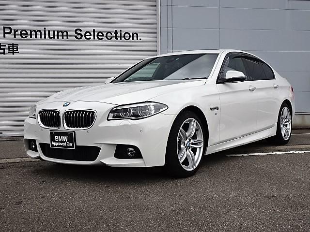BMW 528i Mスポーツ 認定中古車 黒レザー SR LED